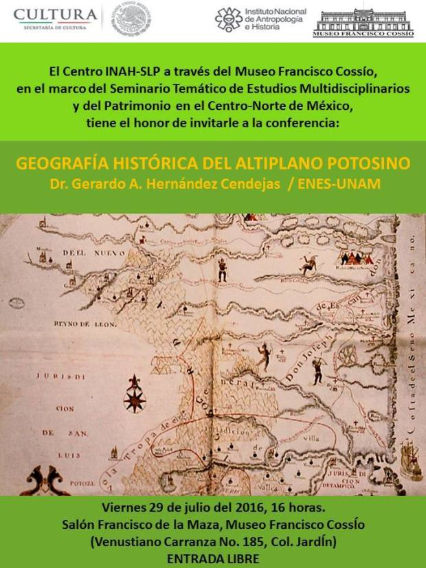 Geografia Histórica Altiplano Potosino