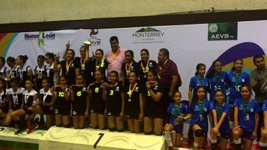 Photo of Potosinas campeonas nacionales de Voleibol