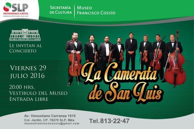 Concierto de la Camerata de San Luis @ Museo Francisco Cossío