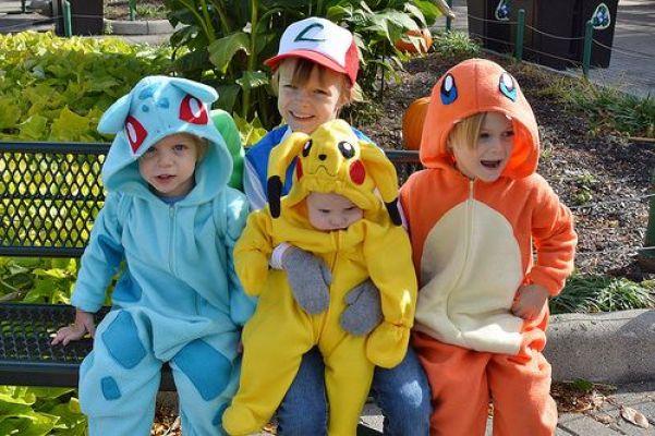 pokemon niños