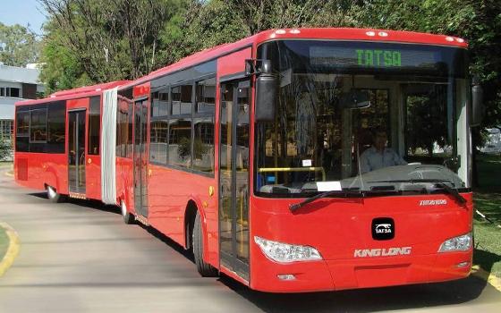 autobus articulado