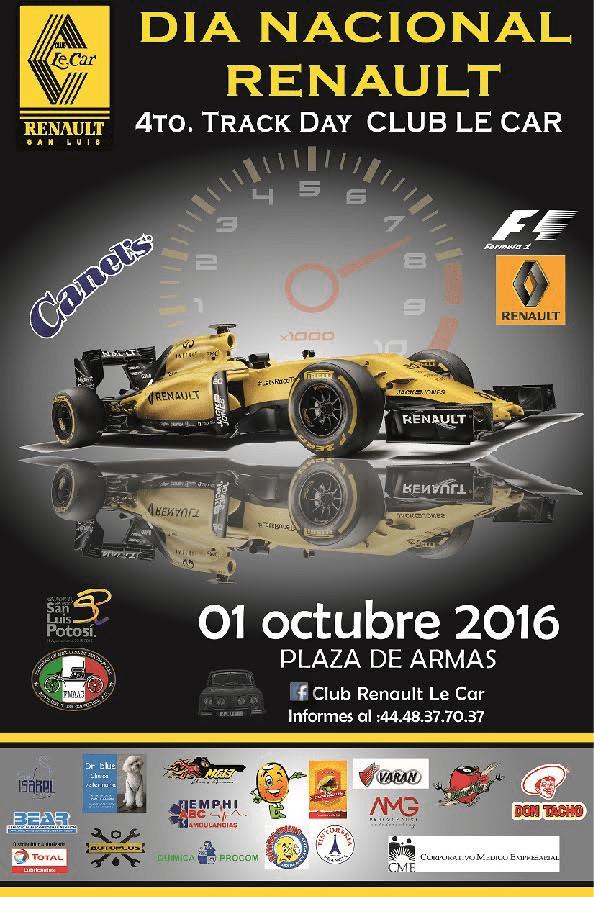 4° Track Day Nacional Renault en SLP @ San Luis Potosí | San Luis Potosí | México