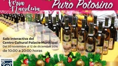 Photo of Invitan a apoyar productos locales en la Feria Navideña Puro Potosino
