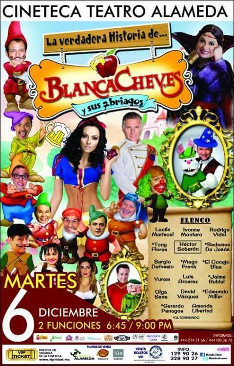 Blanca Cheves y los Siete Briagos en San Luis Potosí @ Cineteca Alameda