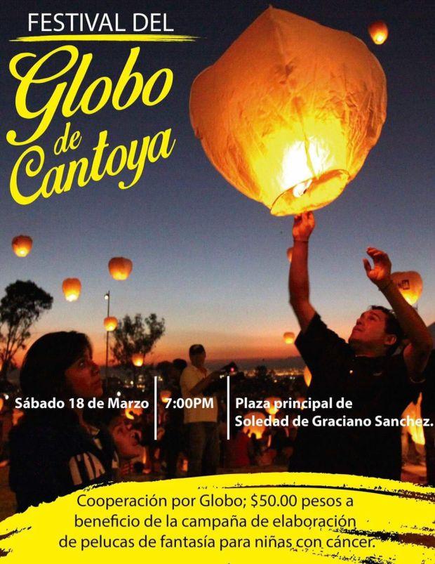 Primer Festival del Globo de Cantoya en Soledad @ Plaza Principal de Soledad de Graciano Sánchez | Soledad de Graciano Sánchez | San Luis Potosí | México