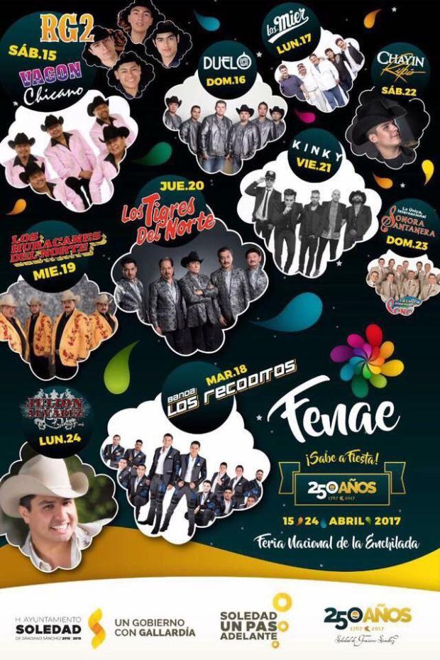 Feria Nacional de la Enchilada 2017 @ Plaza Principal de Soledad de Graciano Sánchez | Soledad de Graciano Sánchez | San Luis Potosí | México