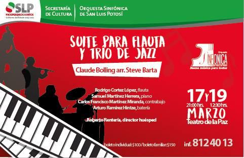 Jazz con la OSSLP e invitados @ Teatro de la Paz