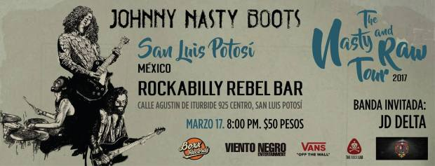 Johnny Nasty Boots + JD Delta / Nasty & Raw Tour @ Rockabilly Bar