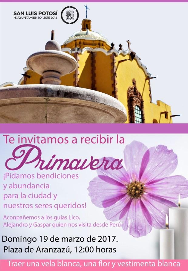 Recibiendo la Primavera @ Plaza de Aranzazú