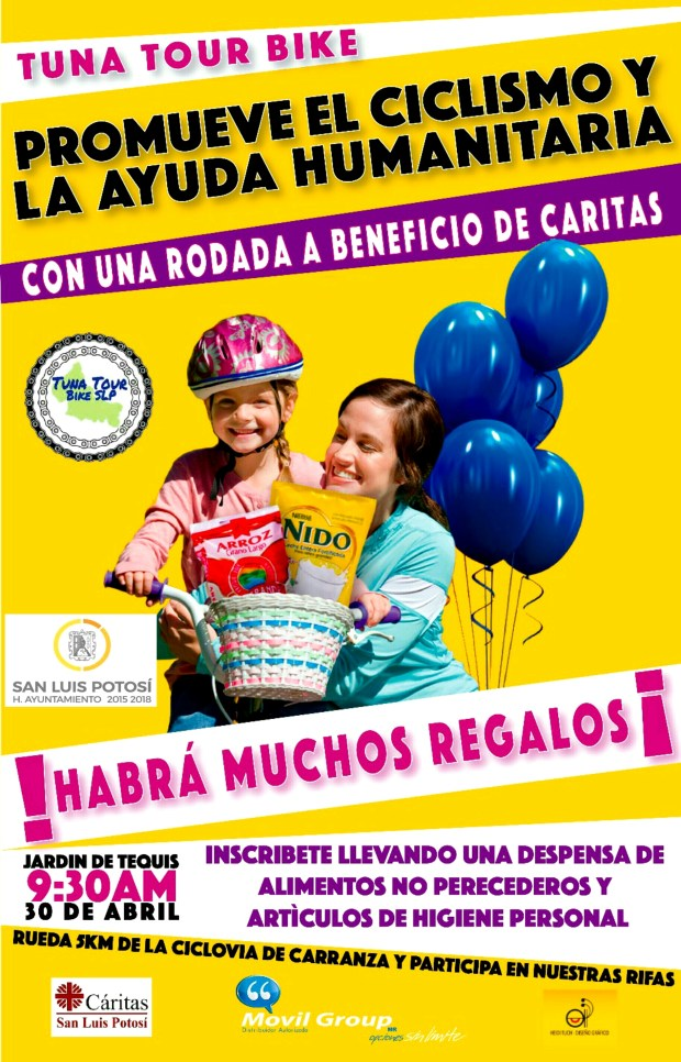 Tuna Tour Bike: rodada a beneficio