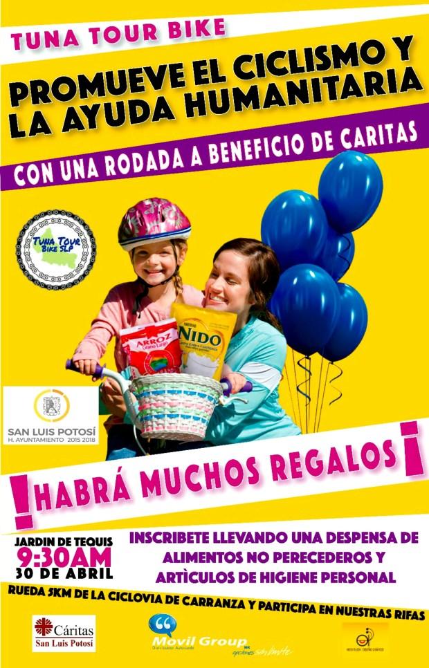 Tuna Tour Bike: rodada a beneficio