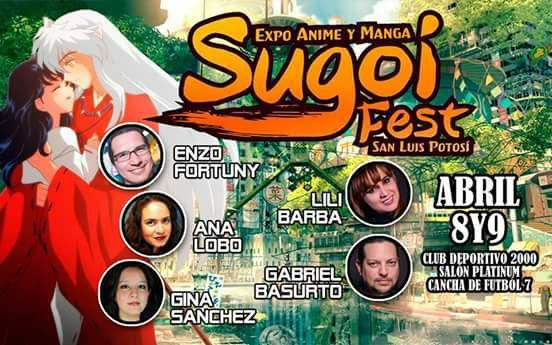 Expo Anime y Manga Sugoi Fest @ Club Deportivo 2000