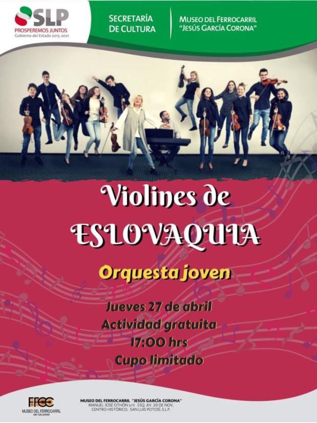 Violines de Eslovaquia @ Museo del Ferrrocarril | San Luis Potosí | San Luis Potosí | México