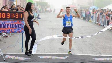 Photo of Gonzalo Parra y Paila Apolonio, ganadores de la Cuarta Carrera de la Enchilada