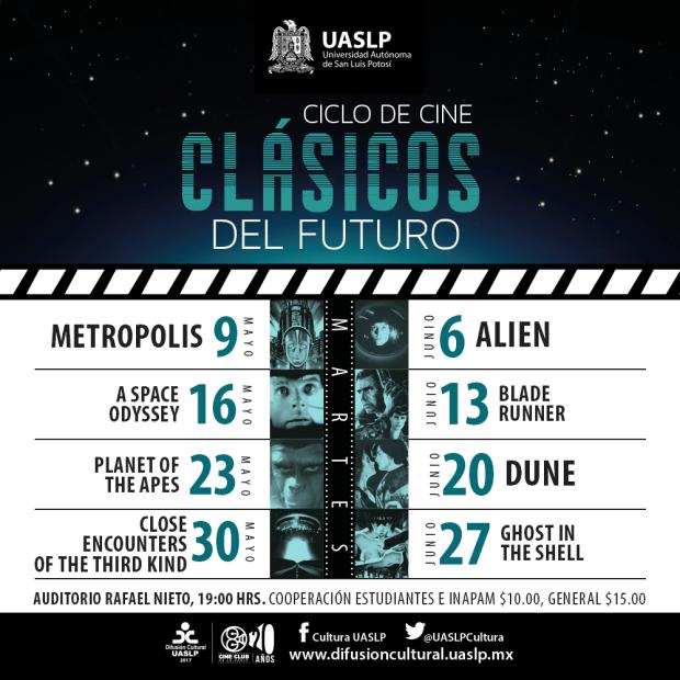 Ciclo de Cine:Clásicos @ Auditorio Rafael Nieto