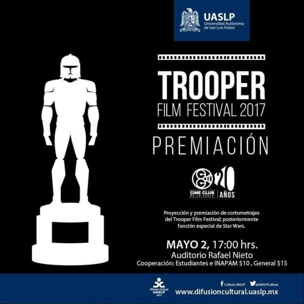 Trooper Film Festival 2017 @ Auditorio Rafael Nieto