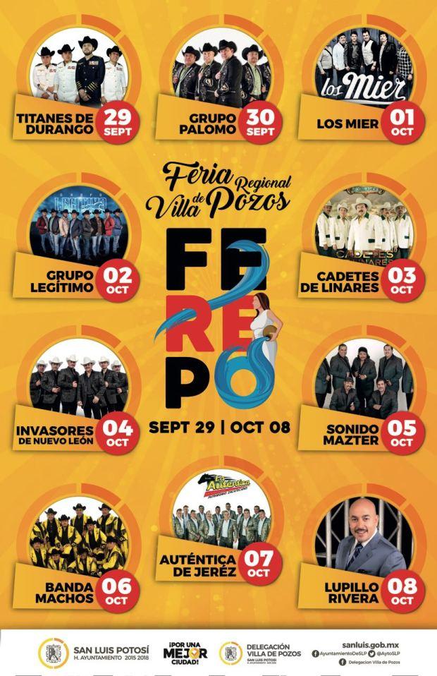 Feria Regional de Villa de Pozos 2017 @ San Luis Potosí | San Luis Potosí | México