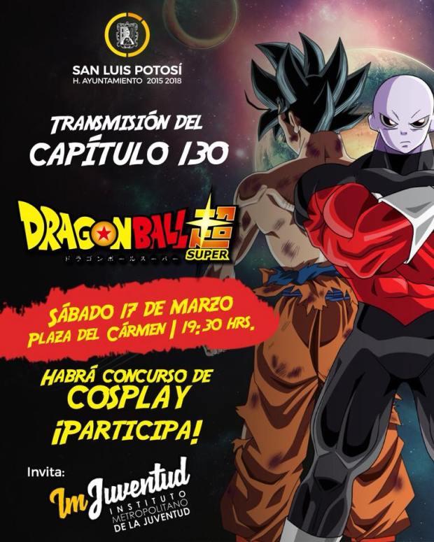 Capitulo 130 de Dragon Ball Super en Plaza del Carmen @ Plaza del Carmen | San Luis Potosí | San Luis Potosí | México