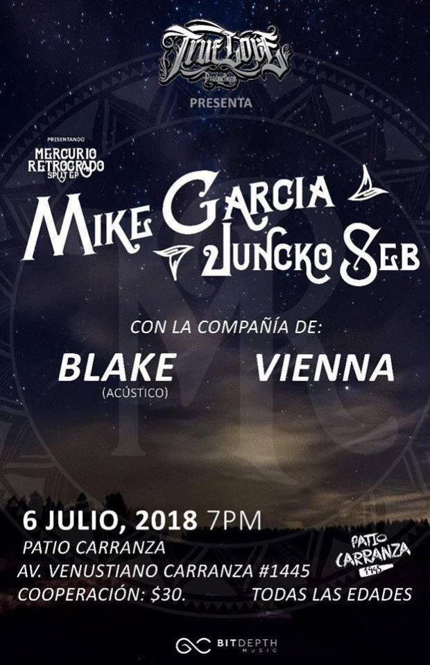 Mike Garcia y Juncko Seb @ Patio Carranza | San Luis Potosí | San Luis Potosí | México