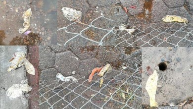 Photo of Inundaciones hacen brotar condones de las alcantarillas