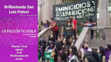 Photo of Agrupaciones femenistas realizarán «La Brillanteada» en Plaza de Armas