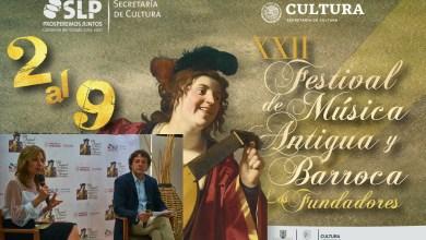 Photo of Presentan el XXII Festival de Música Antigua y Barroca