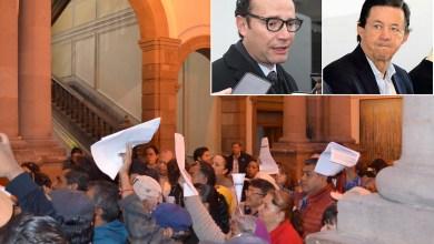 Photo of Comuneros protestan contra fraccionar la Sierra y los reciben con grupo de choque