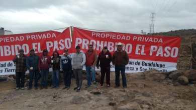 Photo of Comuneros pro fraccionamientos bloquearon acceso a la Cañada del Lobo