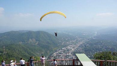 Photo of Realizan el primer vuelo en parapente de Tamazunchale