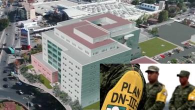 Photo of Por contingencia HospitalCentral estará a cargo del Ejército Mexicano