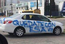 Photo of «Quédate con esa » rayan en vehículo de presunto infiel