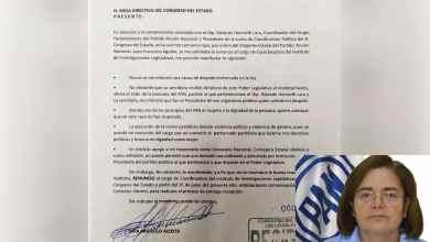Photo of Lidia Argüello renuncia al Congreso; alega violencia política del PAN