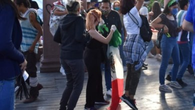 Photo of Quema de bandera en el Congreso fue preparado por infiltrados:activistas
