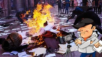 Photo of El Gobierno Estatal podría haber montado la destrucción al Congreso del Estado:activistas