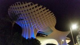 Metropol Parasol @ Night