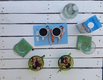 El desayuno, homemade breakfast