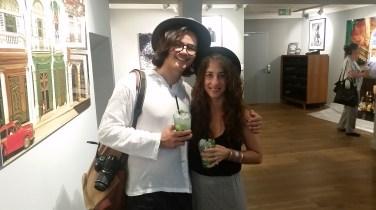 Mit Bohemianstella zusammen in der LUMAS Galerie Zürich.
