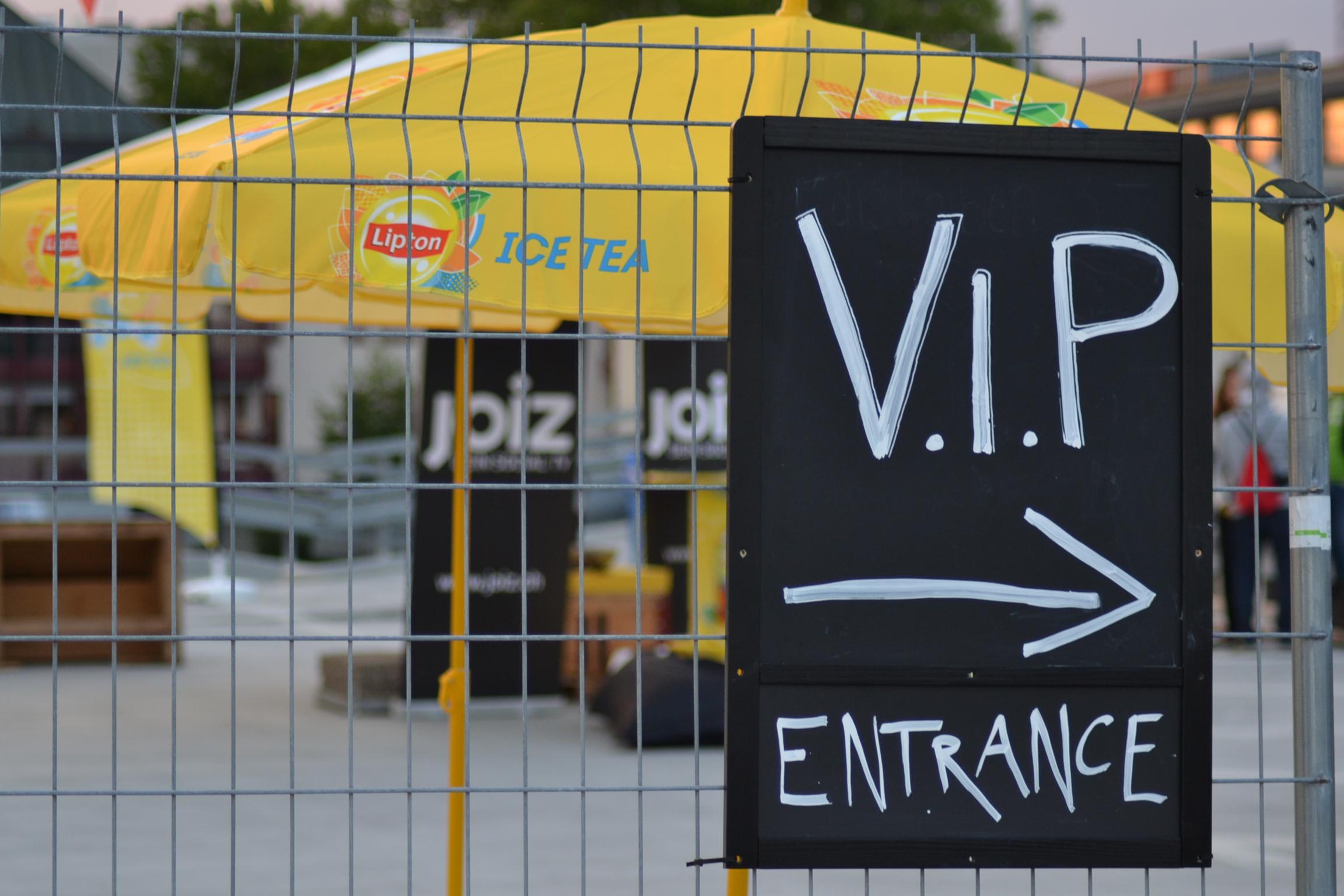 Heute gibts VIP Treatment mit allem was dazu gehört!