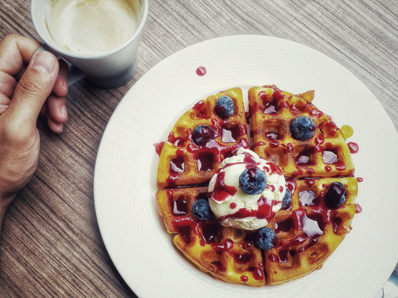 Süsse Versuchung zum Frühstück (Foto: Zenz)