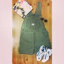 Overalls and sneakers are always in stock in our store!!