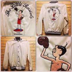 Satin LITTLE RASCALS Baseball Jacket from 1985! #metropolis #metropolisnycvintage #metropolisvintage #baseballjackets #satinjackets #thelittlerascals #littlerascals #alfalfa #ourgang #1985
