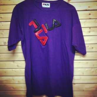 Vintage FILA T-Shirt! This one is X-Large #metropolisvintage #metropolis #metropolisnycvintage #fila #tshirt #vintagetshirts