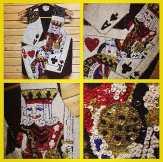 Amazing all-sequined deck of cards vest! Size Medium #metropolis #metropolisvintage #metropolisnycvintage #vest #sequins #deckifcards #gambler @gambling #90s #clubkid