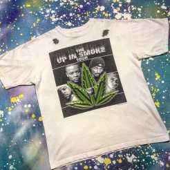 METROPOLIS HIP HOP T-SHIRT WEEK! UP IN SMOKE TOUR T Shirt with Snoop, DRE, Ice Cube and Eminem! #metropolis #metropolisvintage #metropolisnycvintage #metropolistshirts #metropolistshirtmadness #vintagetshirts #tshirts #snoop #snooplion #drdre #dre #icecube #nwa #niggazwithattitude #upinsmoketour #upinsmoke #hiphop #eminem
