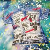METROPOLIS SPORTS TEE MANIA WEEK continues with a cool, formerly Brooklyn, currently Los Angeles DODGERS T-Shirt! #metropolis #metropolisnycvintage #metropolisvintage #sportstshirts #tshirts #dodgers #baseball #brooklyn #losangeles