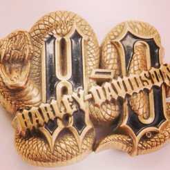 Harley Belt Buckle in our Etsy Store http://etsy.me/11MbOtM #harley #harleydavidson #belt #beltbuckle #harleybeltbuckle #bikerchic #bikerbabe