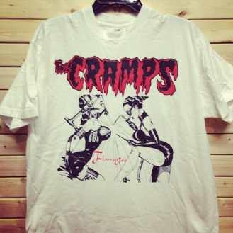 Just added to our store on 3rd ave. #thecramps #cramps #ivy #lux #rockabilly #psychobilly #norton #nortonrecords #cryptrecords #timwarren #surfinbird #trashman #fetish #goth #punk #vintagepunk