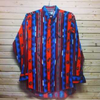 Lots of Aztec shirts in stock in our store #aztecshirt #vintage90s #vintagenyc #tribenyc vintageshirt #aztec #countrystyle