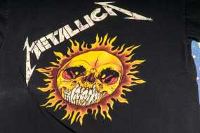 METALLICA T-SHIRTS ON SHOPIFY