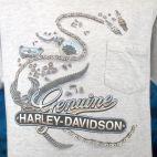 Vintage HARLEY DAVIDSON NYC Metropolis